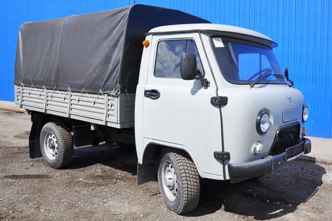 Новый самосвал УАЗ-330365 уже запущен в производство