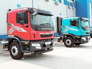 В Украине начались продажи новых грузовых автомобилей Daewoo MAXIMUS и NOVUS