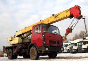 Автокран КС-3577-4: особенности, конструкция, технические характеристики