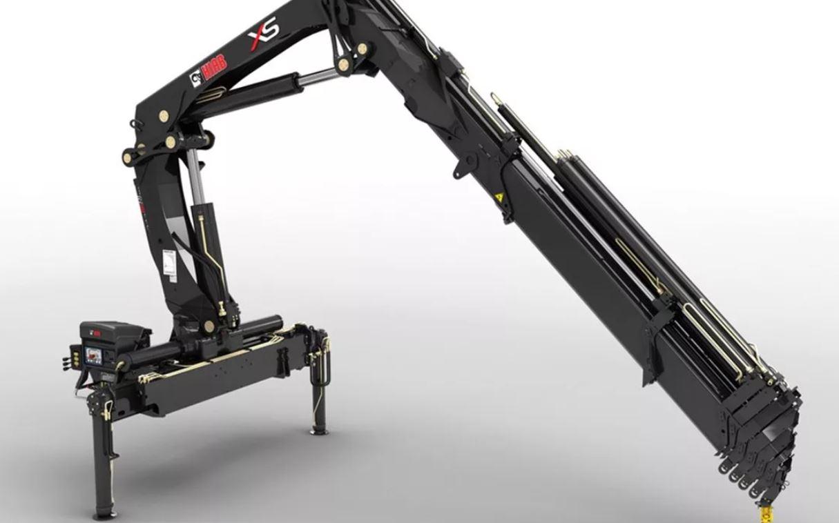 Кран-манипулятор Hiab XS 320: описание, применение, технические характеристики