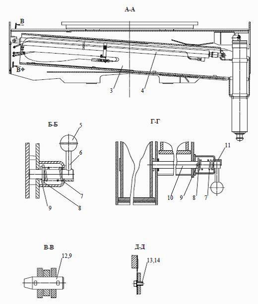 Автокран Ивановец КС-35714/КС-35715: стреловое оборудование, подготовка к работе, устройство, схемы
