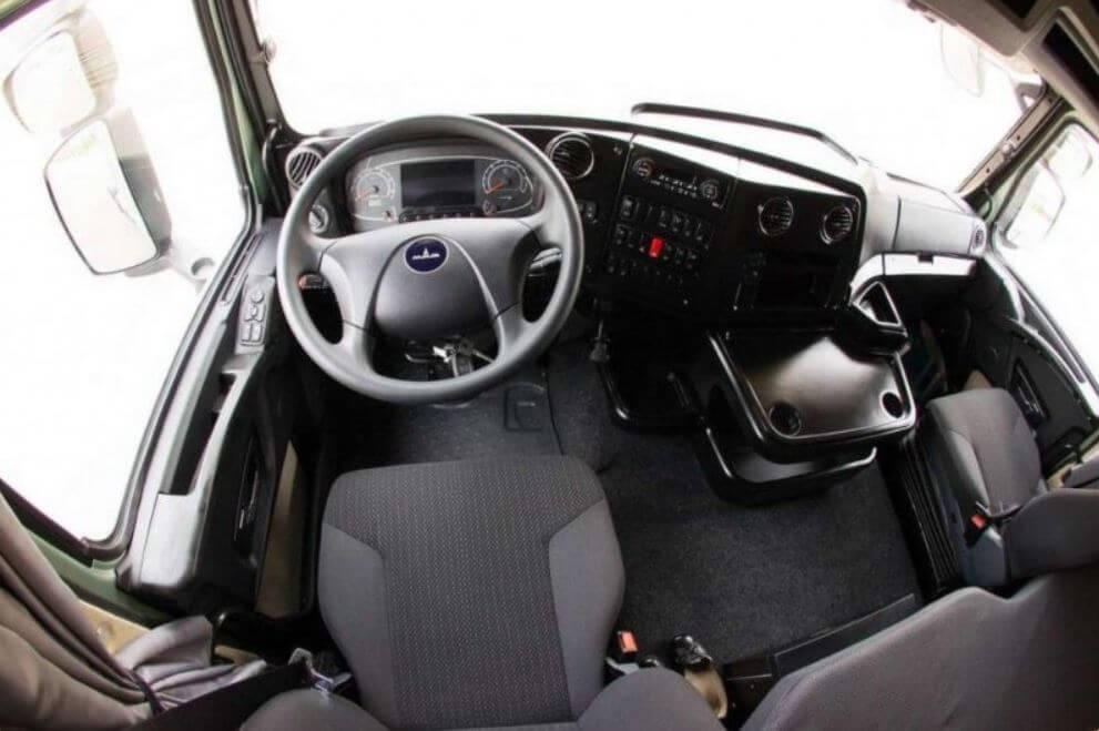 МАЗ-6430: технические характеристики, двигатели, КПП, ходовая, кабина - все версии тягача