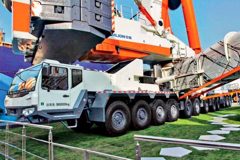Автокран: грузовые и технические характеристики (грузовысотные, грузоподъемные)