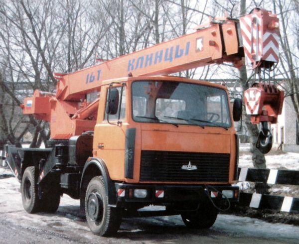 Автокран КС-35716: технические характеристики, описание, грузоподъемность, параметры