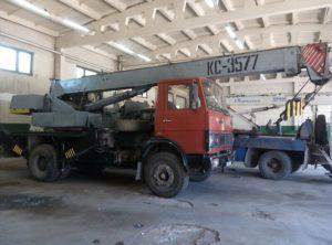 """Автокран КС-3577-3 """"Угличмаш"""": технические характеристики, фото, описание, грузоподъемность, длина стрелы"""