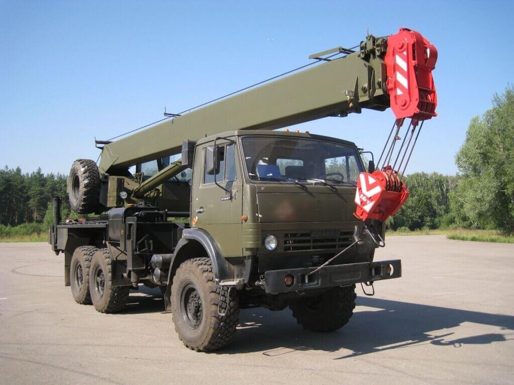 Автокран КС-45719: технические характеристики, модификации, параметры, описание, конструкция стрелы