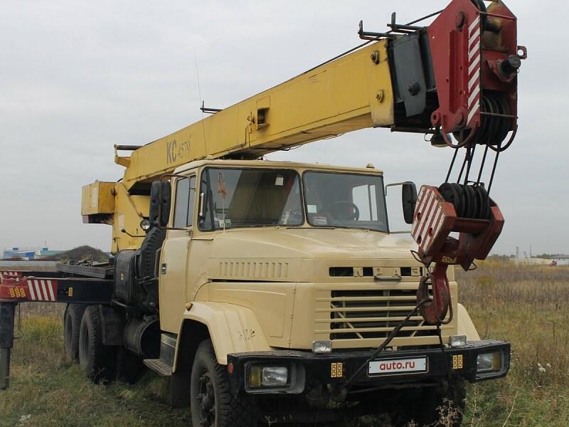"""Автокран КС-4579 """"Галичанин"""": технические характеристики, описание, эксплуатация"""