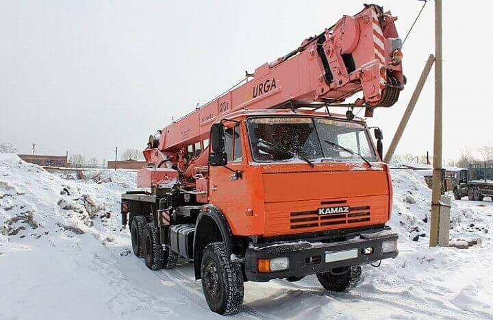 "Автокран КС-55722 ""Юргинец"": модификации, технические характеристики, вес, фото, грузоподъемность"