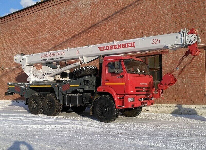 "Автокран КС-55730 ""Челябинец"": технические характеристики, описание, фото, параметры"