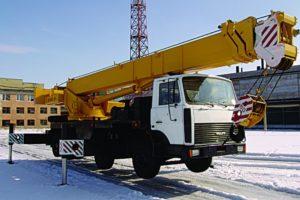Автокран КС-6476 Газакс: технические характеристики, вес, фото, описание, грузоподъемность