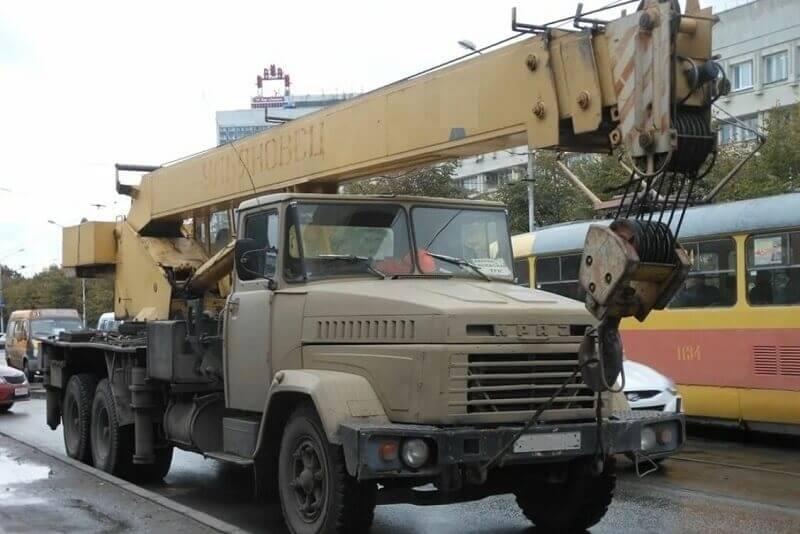 Автокран МКАТ-20: технические характеристики, грузоподъемность, длина стрелы