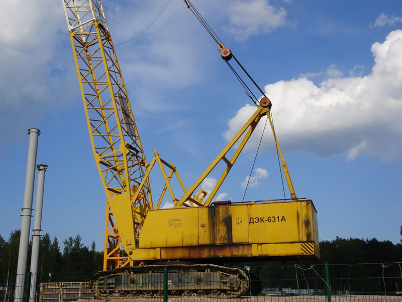 """Кран ДЭК-631А """"Челябинец"""": технические характеристики, грузоподъемность, конструкция и длина стрелы"""