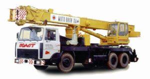 Автокран КС-5477А: технические характеристики, вес, грузоподъемность, фото, длина стрелы