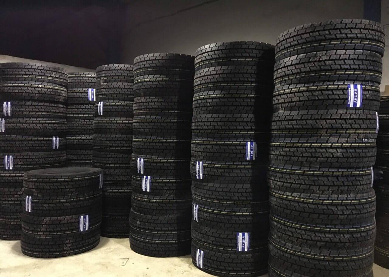 Рейтинг грузовых шин: на ведущую и рулевую оси, на полуприцеп с характеристиками в таблице