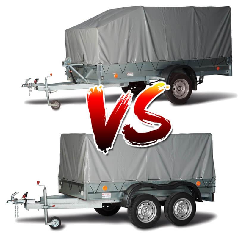 Какой прицеп лучше – одноосный или двухосный: какой удобнее, какой лучше выбрать для легковой или грузовой машины
